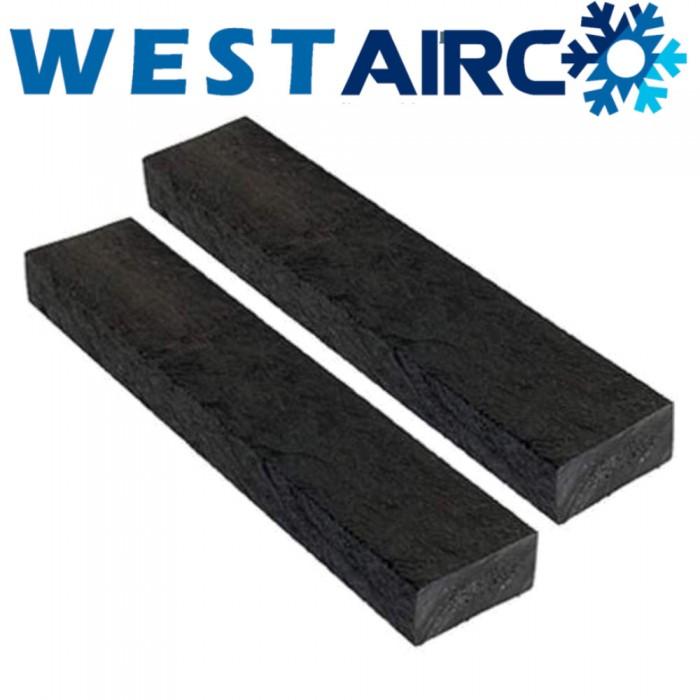 Aircobase balk recycled set 2 stuks  60 x 10  x 5 cm
