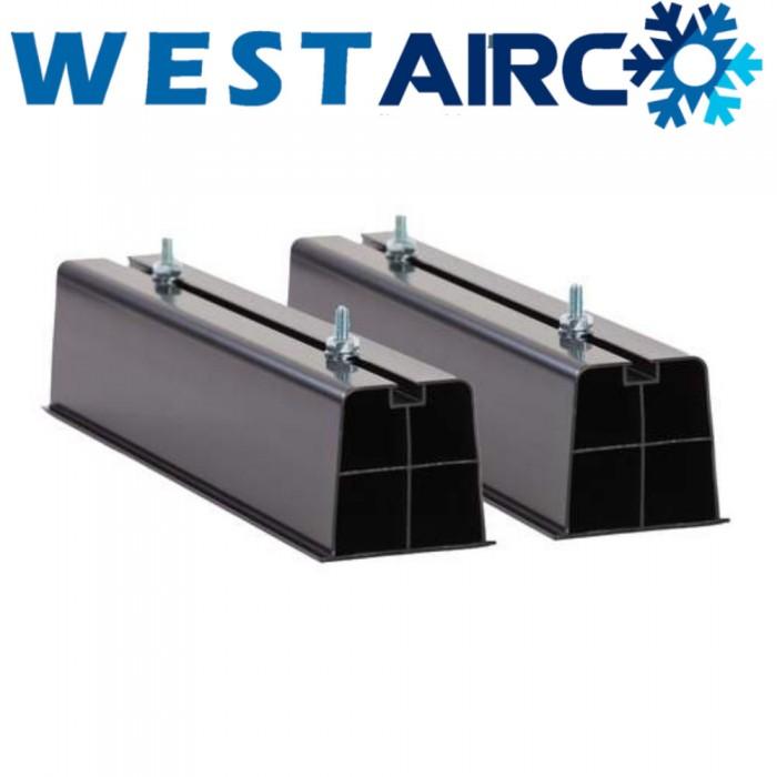 Aircobase opstelprofiel kunststof 450x110x90 mm